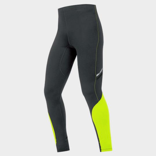 Black and Neon Green Slim Fit Marathon Pants Manufacturer