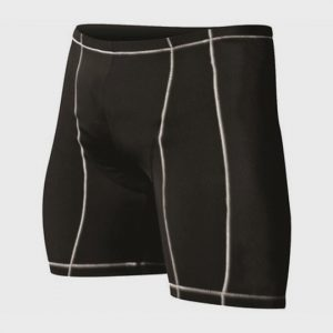 Wholesale Black and White Marathon Shorts Supplier