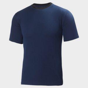 Wholesale Blue Short Sleeves Marathon T-shirt