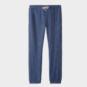 Wholesale Blue Velvet Marathon Pants Supplier