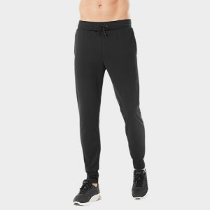 wholesale cozy black marathon pants distributor