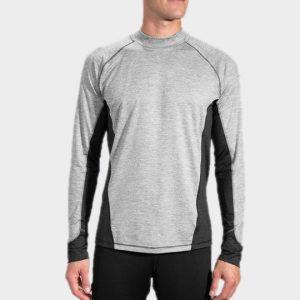 Marathon grey duo toned long sleeve tee manufacturer