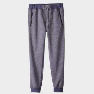 Grey Color Block Jogger Marathon Pants Supplier