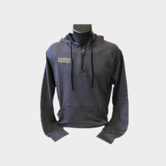 wholesale grey designer marathon hooded jacket supplier