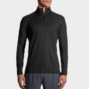 Marathon dark grey high neck long sleeve tee manufacturer
