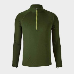 Marathon moss green long sleeve tee supplier