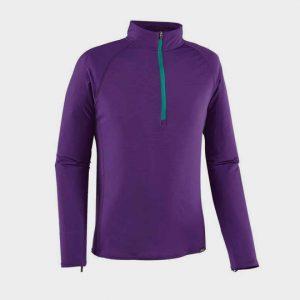 wholesale marathon purple long sleeve tee manufacturer