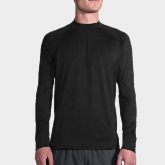 Marathon rich black long sleeve tee