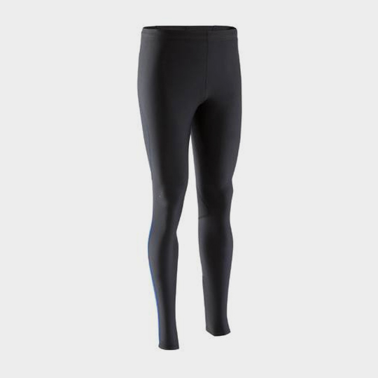 Skin-tight black marathon pants supplier