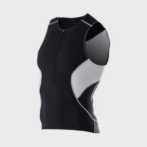 wholesale black and grey marathon tank top