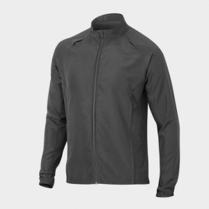 wholesale plain grey marathon jacket supplier