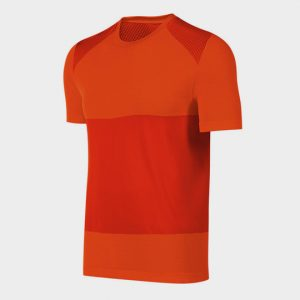 Wholesale Red Hued Short Sleeves Marathon T-shirt Supplier