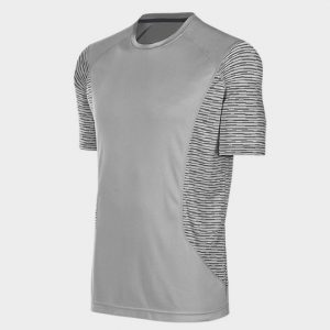 Wholesale White Trendy Short Sleeves Marathon T-shirt Supplier