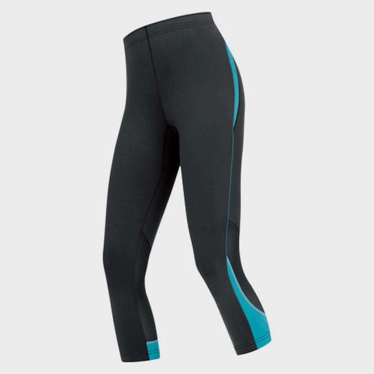 wholesale womens gore essential capris black blue