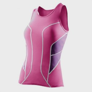 wholesale marathon dark pink tank top manufacturer