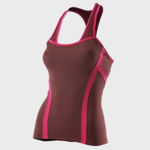bulk marathon pink and chocolate tank top supplier