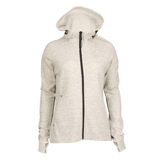 womens heather Hoodie summit white black nike tech fleece zip color nike